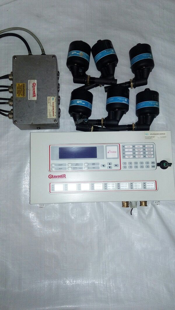Graviner-Mk6-Oil Mist Detector COMPLETE-SET